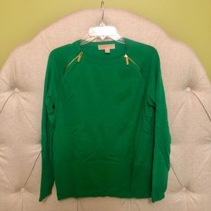 Green Michael Kors Sweater